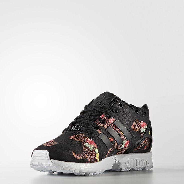 adidas zx flux rose motif hibiscus