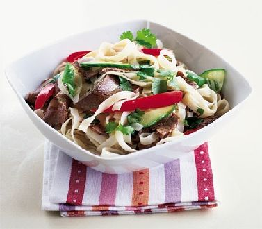 Asian beef salad    http://www.ibssanoplus.com/low_fodmap_asian_beef.html