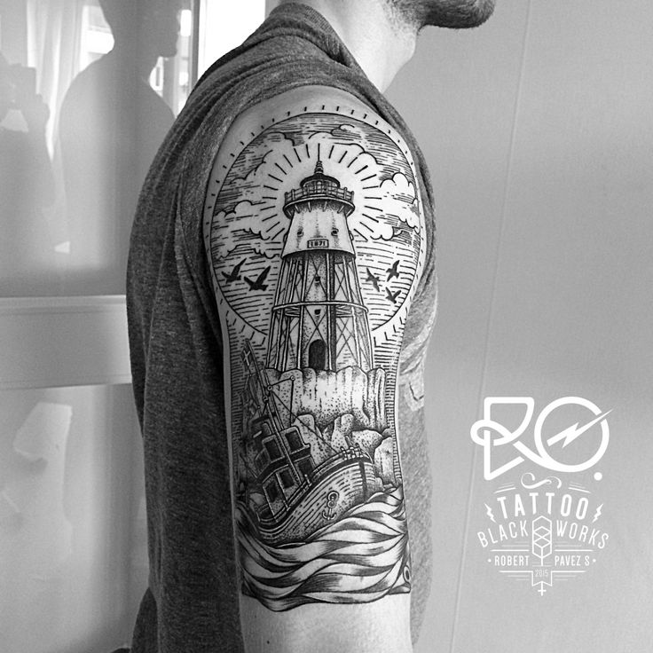 Tattoo / line & dot work / Sweden 2014. By Robert Pavez. @ro_tattoo                                                                                                                                                                                 More
