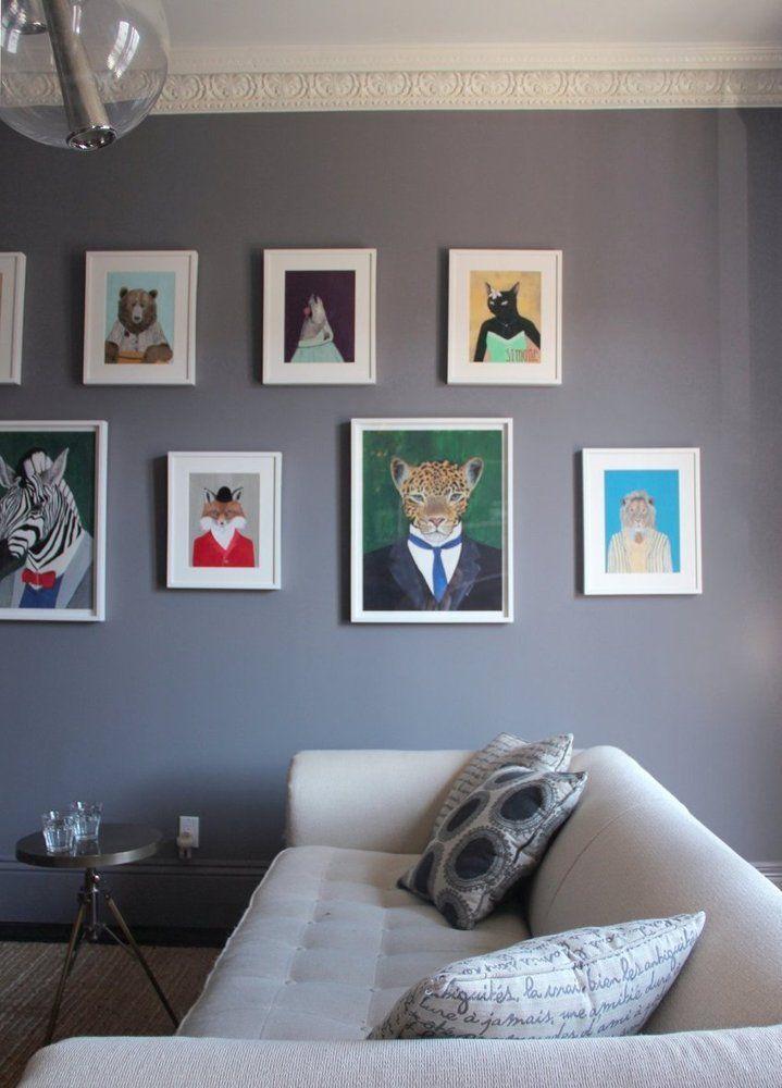House Tour: Jamie & Byron's Elegant Art Canvas | Apartment Therapy