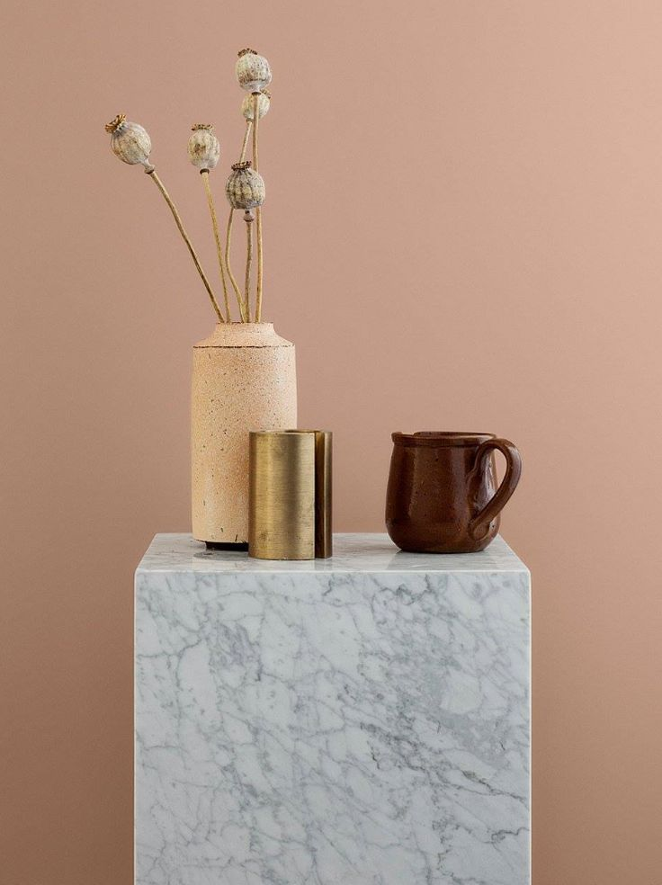 MENU | Plinth in Marble, styled by Jannicke Kråkvik, shot by Line thit Klein for Jotun Lady Colour.