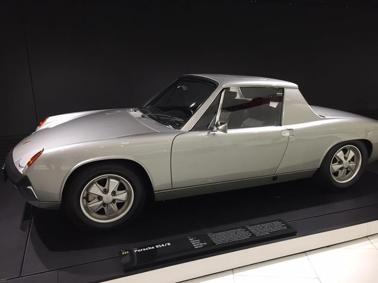 Porsche 914-8. One of two.