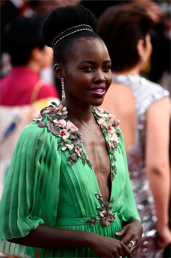 Lupita Nyong'o  .  Festival di Cannes 2015 - VanityFair.it