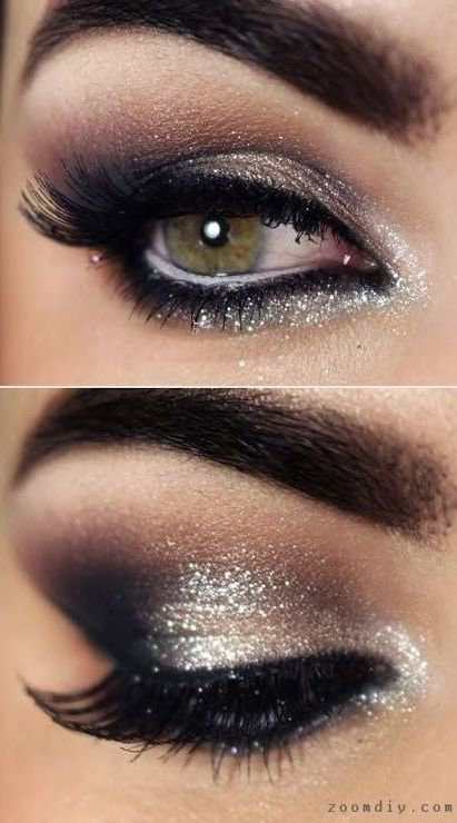Hands up if you love a good old smokey eye!? Why not add a little shimmer to brighten up your eye and really make an impact during the party season. http://fancytemplestore.com