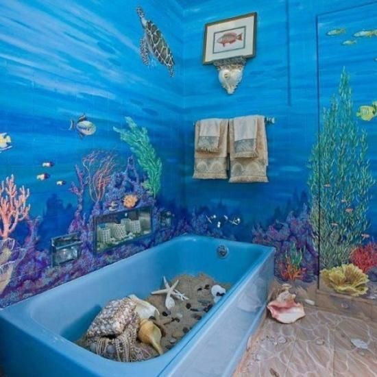 Bathroom Ideas Beach beach bathroom ideas | home design ideas