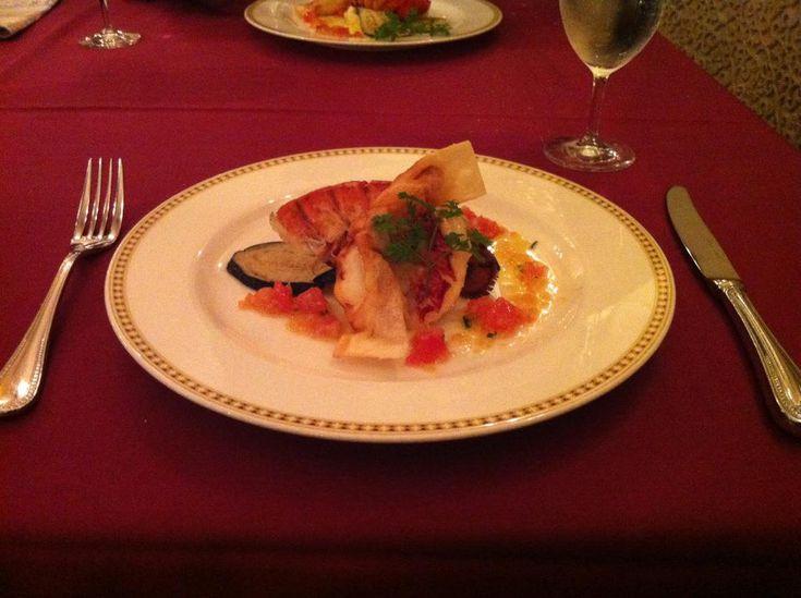 Lobster at Magellan's, Disneysea. One of the fanciest restaurants at TDR.
