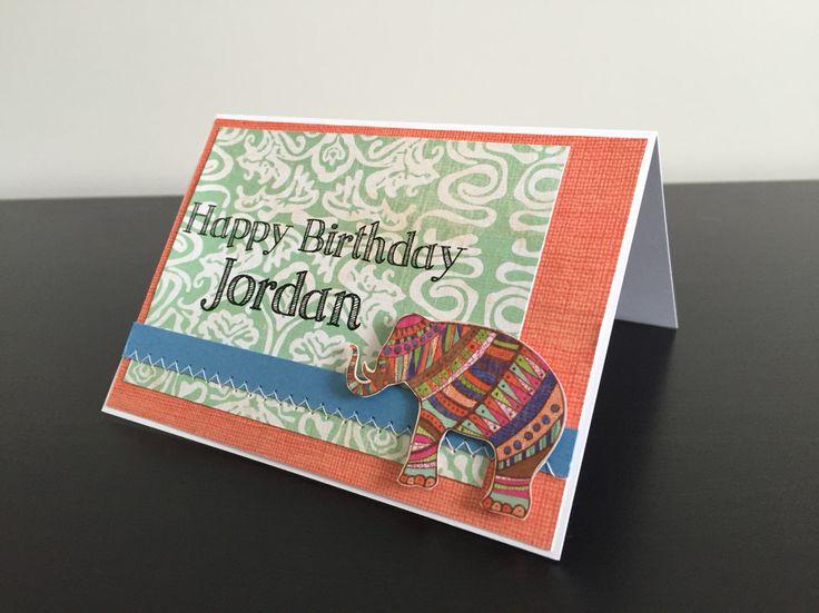 custom birthday card