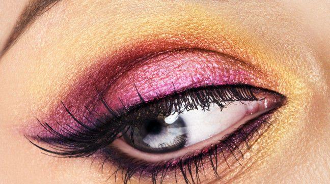 Make-up der 70er-Jahre