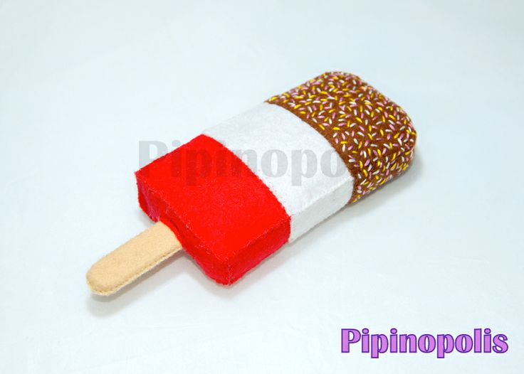 Ice lolly - felt food