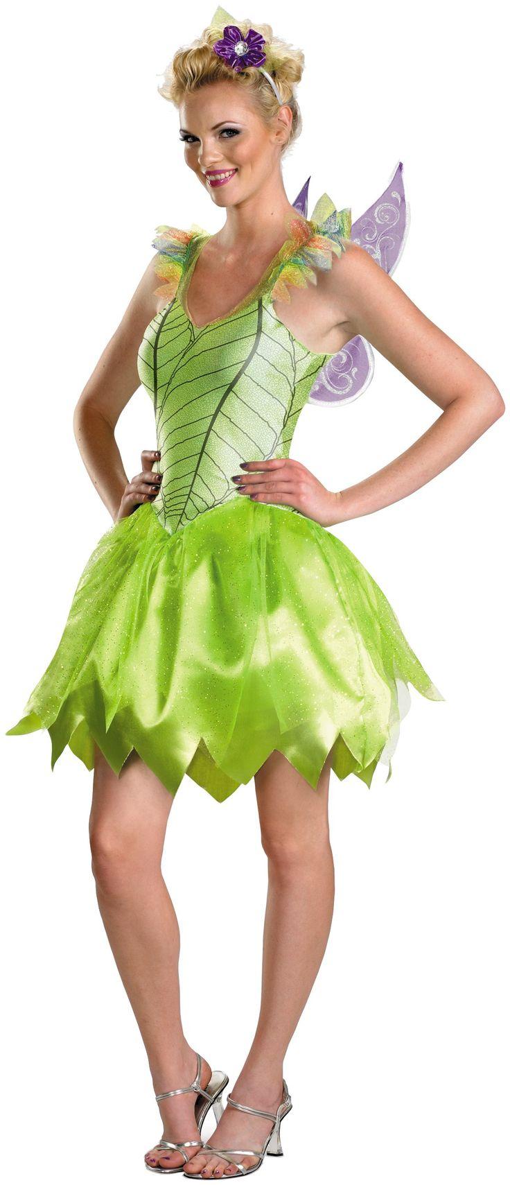 Disney Tinker Bell Rainbow Deluxe Adult Costume 48.99