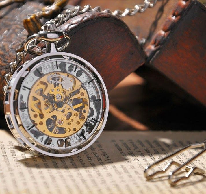Blog de montres: Nouvelles montres à gousset squelettes et mécaniqu...