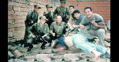 Pablo Escobar was the main supplier of America's insatiable appetite for narcotics. Read more here: http://www.alldayreading.com/2015/10/pablo-escobar-narcotics-kingpin.html