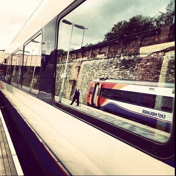 Trains within trains (photo by @farhan_4ub on IG) #socialsheffield #sheffield