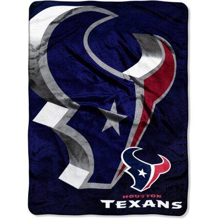 NFL Texans 60x80 Micro Raschel Blanket, Blue