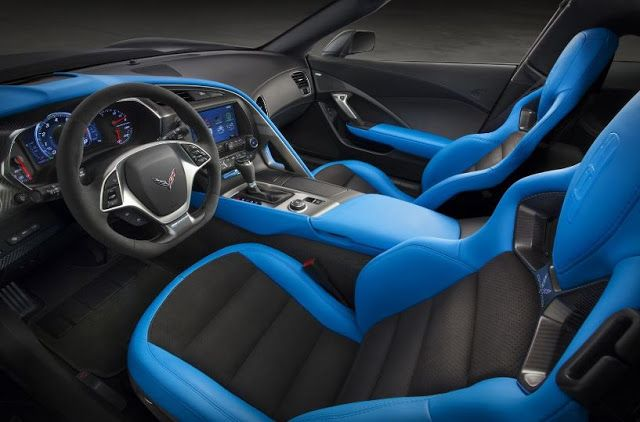 2018 Chevrolet Corvette ZR1 interior