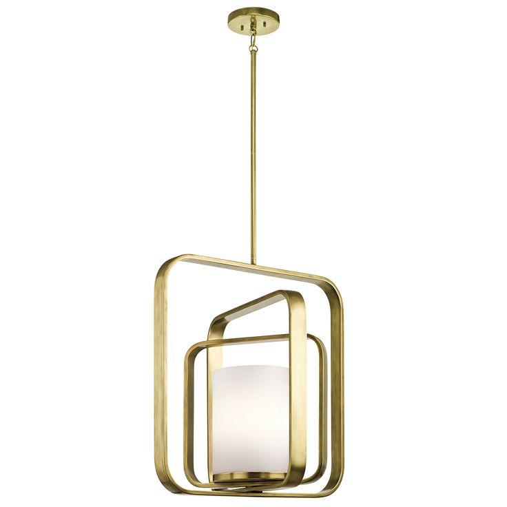 City Loft 1 Light Pendant 43783NBR from Kichler Lighting designed by Daniel Kim  sc 1 st  Pinterest & 679 best Pendant lamp images on Pinterest   Light fixtures ... azcodes.com