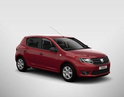 Dacia Sandero  - Ognista Czerwień