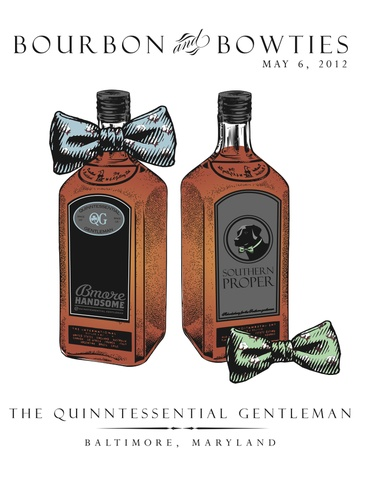 Two of my favorite things: bourbon and bowties #southernproper
