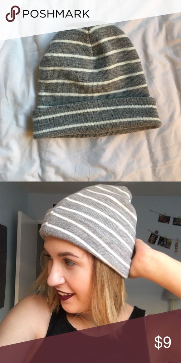 82c2b6577e5 SUPER CUTE STRIPED BEANIE Tight fitting beanie for functional and cold  weather! This beanie will keep your ears and head warm 😄 bought…