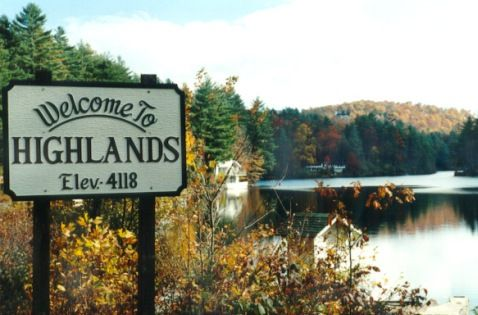 BEAT THE HEAT! Highlands NC - a wonderful place to visit or live - many beautiful waterfall's - great hiking - fun shopping.