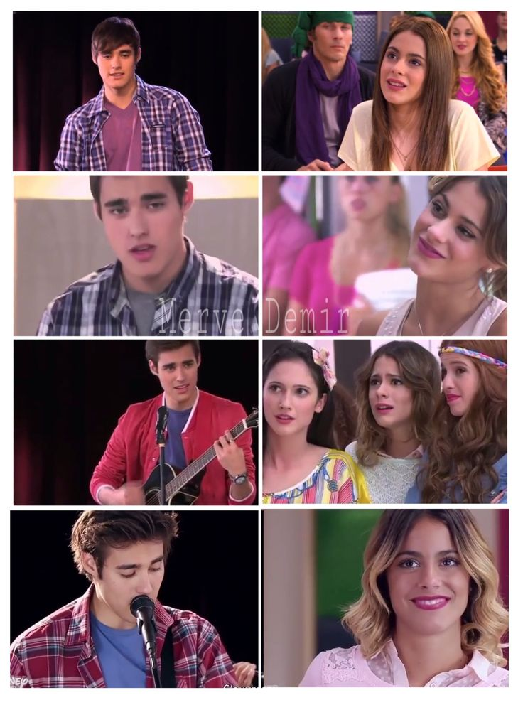 Leon and Violetta. They are same all seasons. Leon #Violetta #Leonetta #Violetta1 #Violetta2 #Violetta3 #Love #JorgeBlanco #MartinaStoessel #Jorgista
