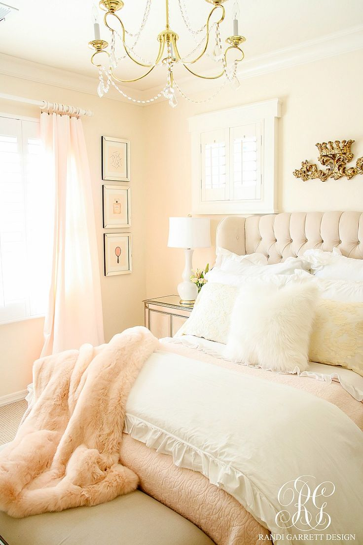 Bed canopy with fairy lights bangdodo - Blush Pink Lace Bedroom Makeover Easy Tips To Refresh Your Bedroom