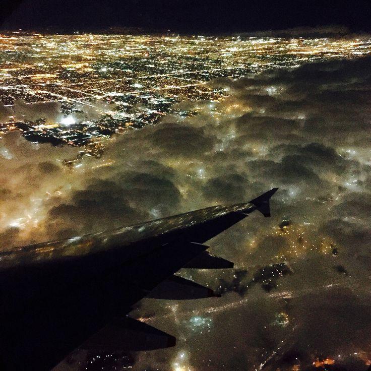 Landing in LAX 12/4/14