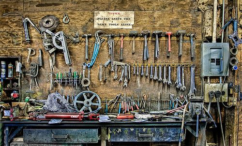 tools by Tontographer, via Flickr