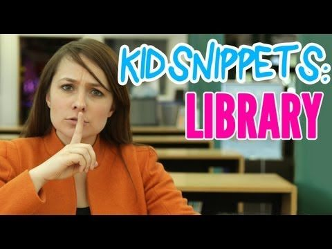 "▶ Kid Snippets: ""Library"" Scenarios as imagined by children and reenacted by adults. HILARIOUS!"