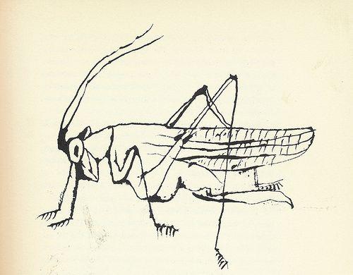 "13: ""Grasshopper"" by Ben Shahn by Scott Lindberg, via Flickr"