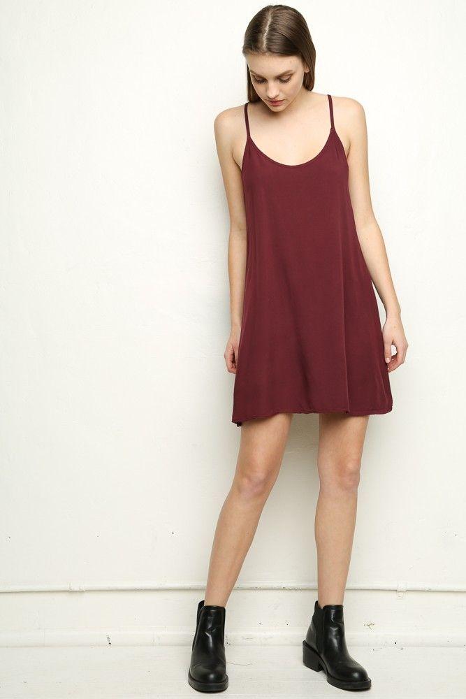 Brandy ♥ Melville | Belle Slip Dress - Dresses - Clothing