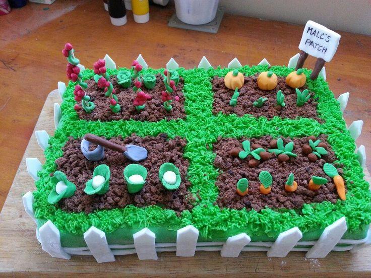 Garden Cake for Malc