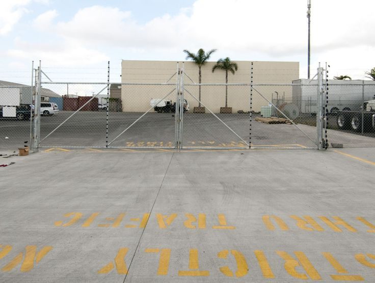 Get Gates & Fence It - Value Industrial Security Gate