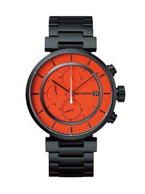 Issey Miyake W Men's Watch. I prefer to wear men's watches.