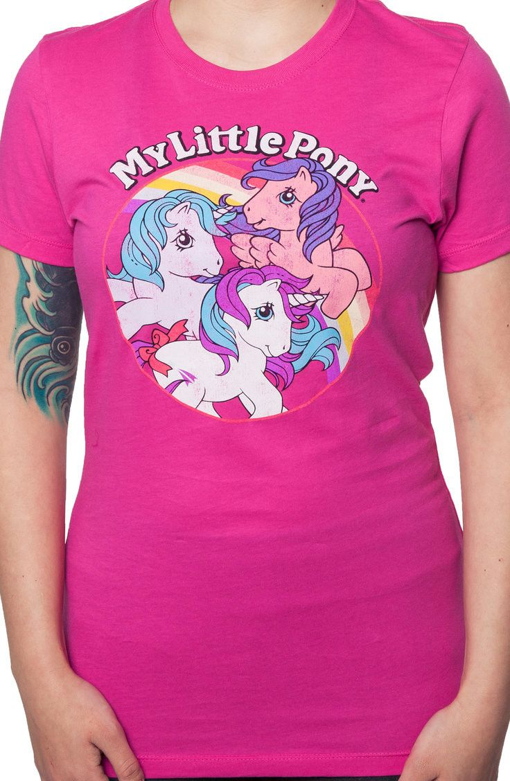 Retro My Little Pony Shirt: 80s Cartoons: My Little Pony Shirt