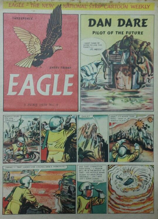Dan Dare from Eagle Comic #9