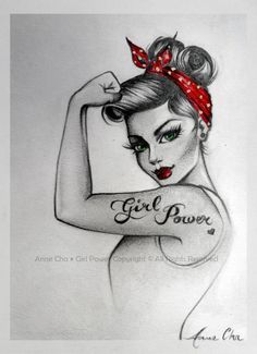 traditional pin up girl tattoo - Google Search