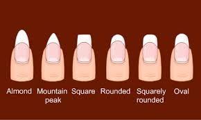je heb heel veel nagel vormen en lengtes
