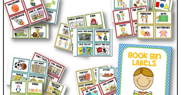 a year of many firsts: library book bin labels (free)