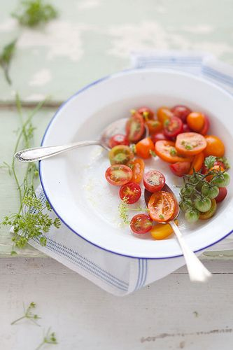 early summer: Salad, Recipe, Food Tomatoes, Cherry Tomatoes, Food Styling, Food Photography, Early Summer, Food Photos