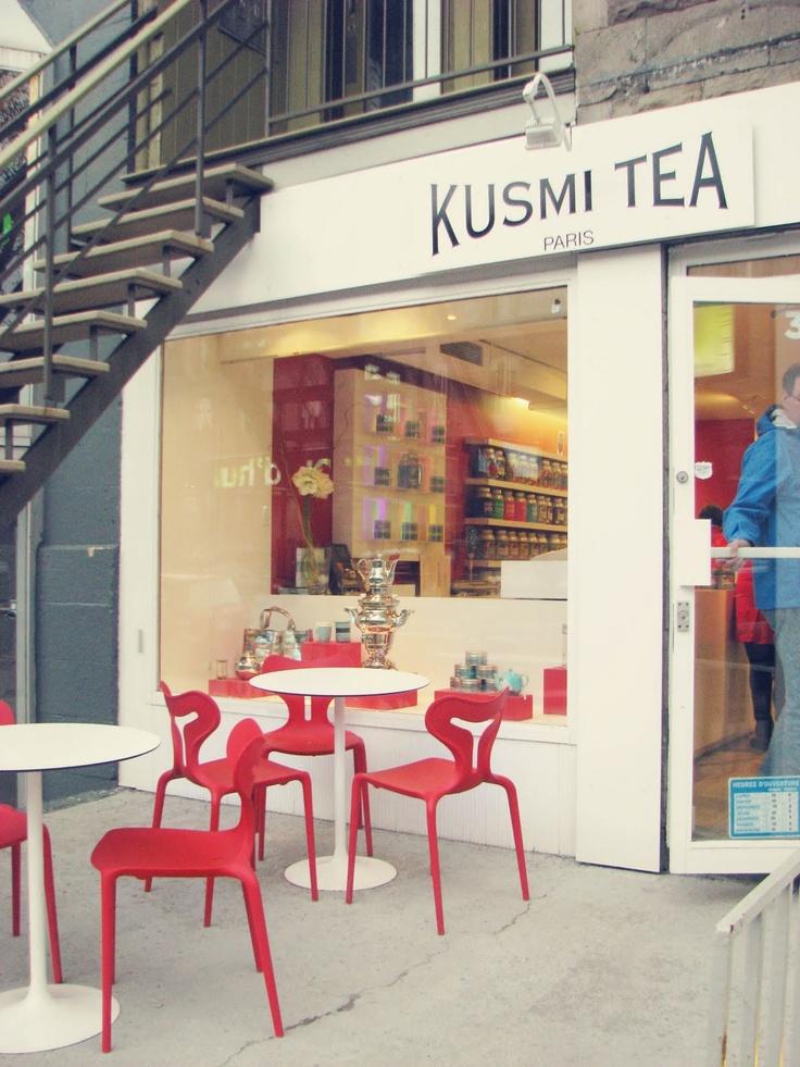 kusmi Tea boutique