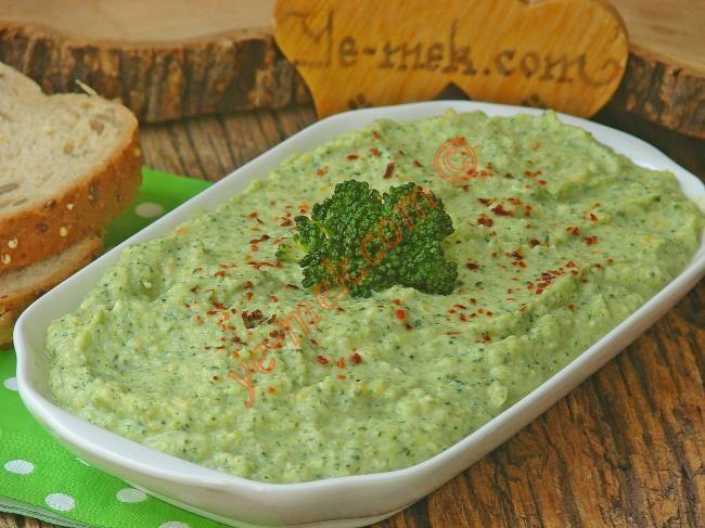 Yoğurlu Brokoli Ezmesi Resimli Tarifi - Yemek Tarifleri