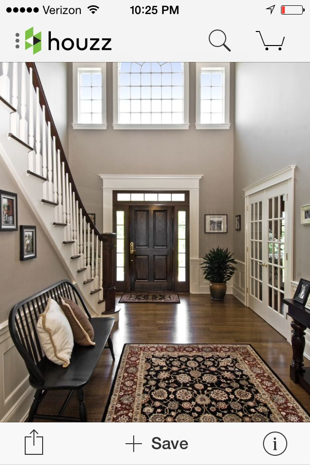 Great foyer. Great width