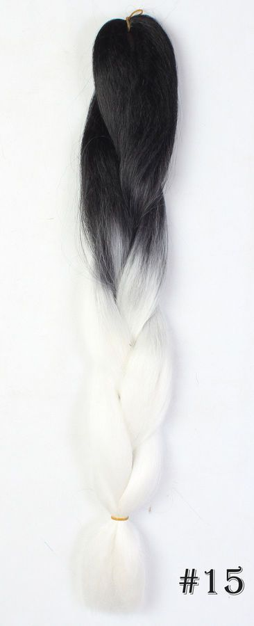 24 Ombre Dip Dye Kanekalon Jumbo Braiding Hair Extensions Best