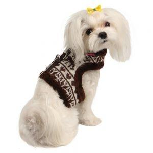 Novità: Pettorina Pinkaholic® Reindeer con motivo decorativo con renne