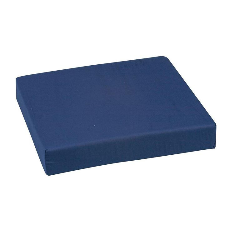 DMI Polyfoam Wheelchair Cushion in Navy