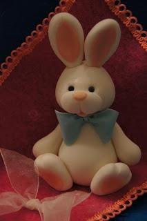 Fondant (easter) Rabbit.
