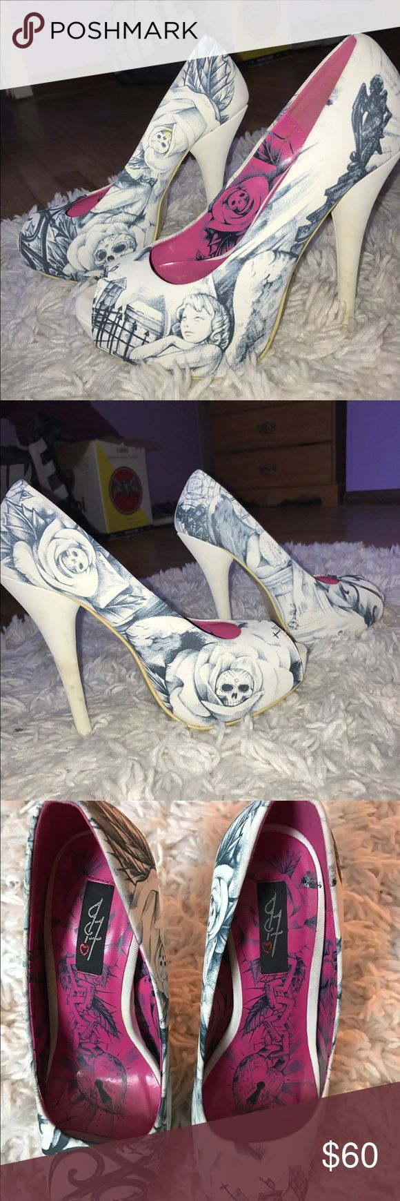 Iron fist heels White iron fist shoes Iron Fist Shoes Heels