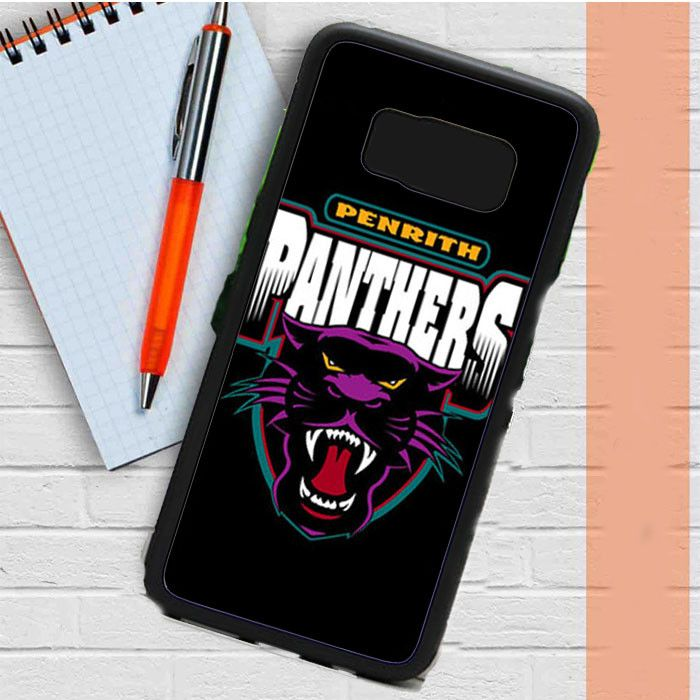 Penrith Panthers Black Samsung Galaxy S8 Plus Case Casefreed