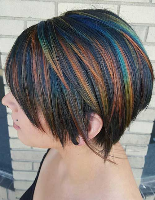 15.Hair Color Short Hair